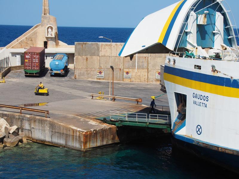 Überfahrt nach Gozo